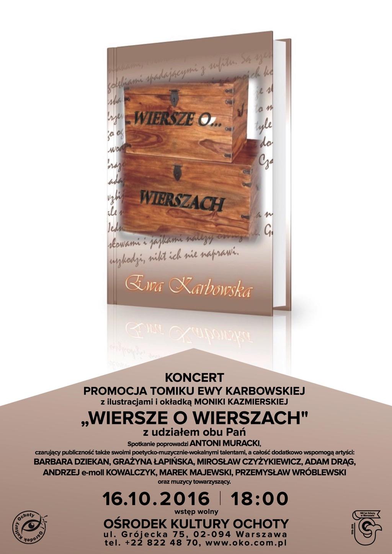 16 Października Niedziela Godz 1800 Koncert Promocja